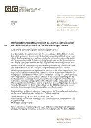 Darmstädter Energieforum: Mithilfe geothermischer Simulation ...