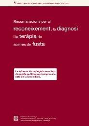 Recomanacions per al reconeixement, la diagnosi i la teràpia ... - Itec
