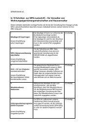 In 10 Schritten zur SEPA-Lastschrift – für Verwalter von ...