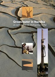 Groundwater in Namibia - an Explanation to the ... - BGR