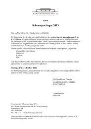 Schneesportlager 2013 - Kantonsschule im Lee Winterthur