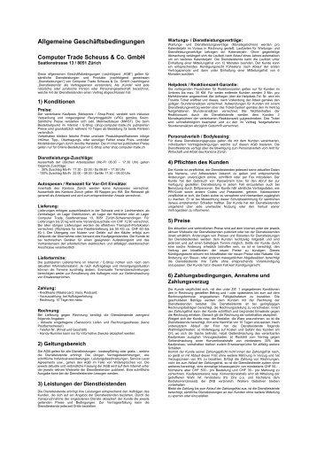 download - Computer Trade Scheuss & Co. Gmbh