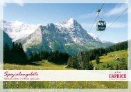 Spezialangebote - Hotel Caprice - Grindelwald
