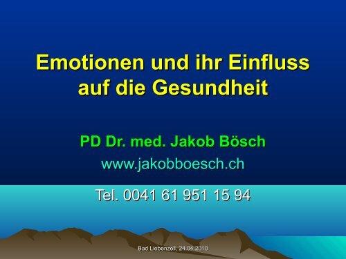 Emotionen und ihr Einfluss auf unsere Gesundheit