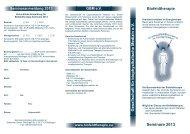 PDF-Datei - Gesellschaft für biophysikalische Medizin eV