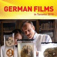 in Toronto 2010 - german films