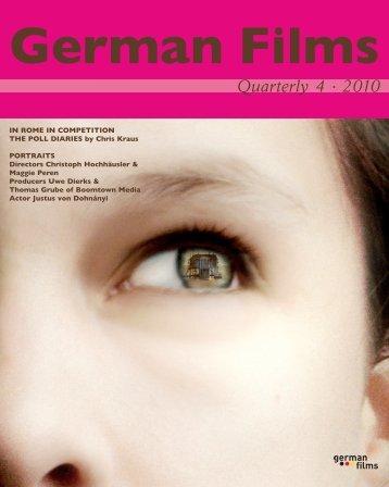 Quarterly 4 · 2010 - german films