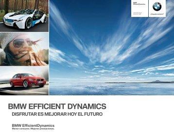 BMW EFFICIENT DYNAMICS También los motores diésel de