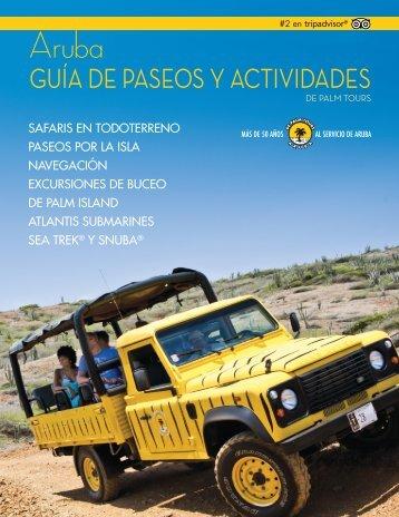 GUÍA DE PASEOS Y ACTIVIDADES - De Palm Tours