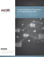 Preserving Sender Reputation: Key Features & Benefits