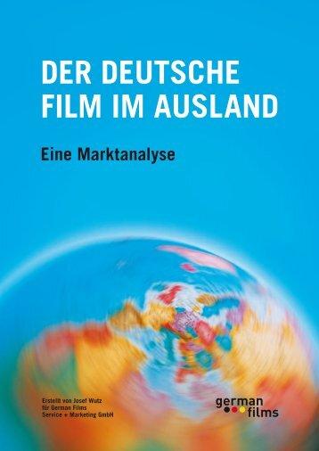DER DEUTSCHE FILM IM AUSLAND Eine ... - german films