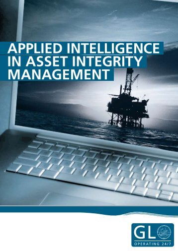 applied intelligence in asset integrity management - GL Group