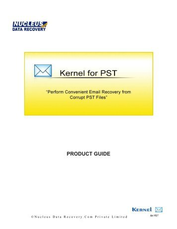 Kernel for OST to PST Conversion - Kernel Data Recovery