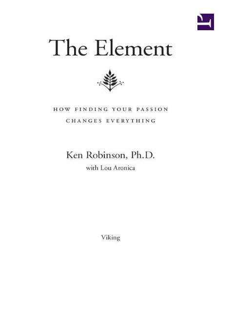 the-element-by-ken-robinson-epub