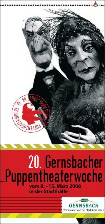 Traditionelle Marionetten und - Stadt Gernsbach