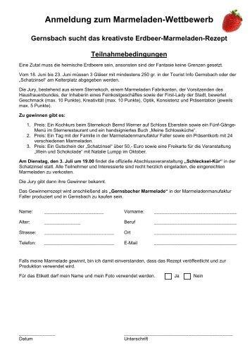 Teilnahmebogen.pdf - Stadt Gernsbach