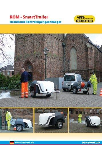 ROM - SmartTrailer - GEROTEC  Kanalprüftechnik