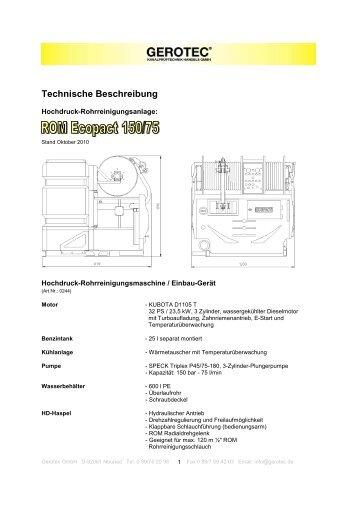 Technische Beschreibung