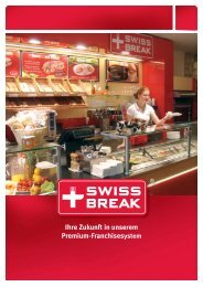 Locker und lecker: unser Catering - Swiss Break