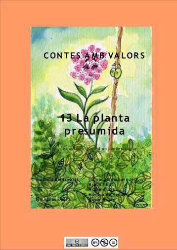 13 La planta presumida - Contes del Món