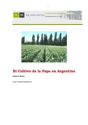 El Cultivo de la Papa en Argentina - Ecofisiología de cultivos