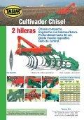 Cultivador Chisel 2 y 3 hileras Tasias - Interempresas - Page 2