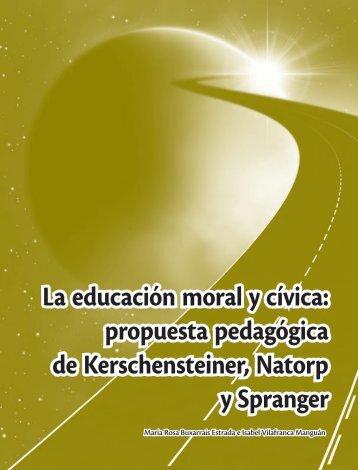 La educación moral y cívica - Autoriawcm.ipn.mx