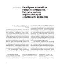 4. Paradigmas urbanísticos y proyectos integrados. Entre el