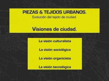 piezas & tejidos urbanos. - Webnode