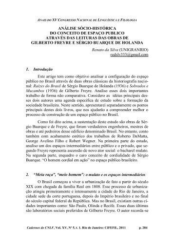 análise sócio-histórica do conceito de espaço publico ... - CiFEFiL