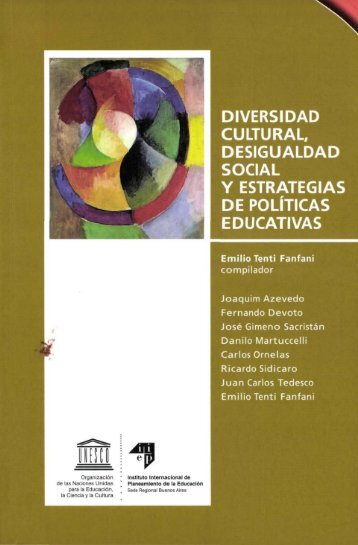 Diversidad cultural, desigualdad social y ... - unesdoc - Unesco