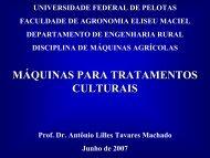 cultivadores - Universidade Federal de Pelotas