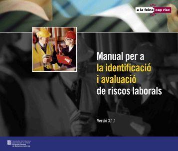 Manual per a la identificació i avaluació de riscos laborals (v3.1.1)