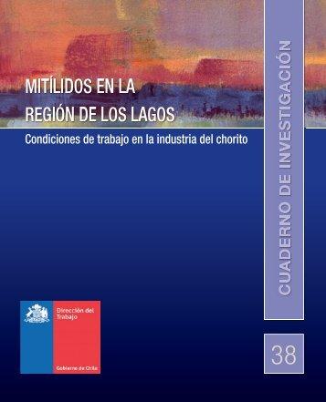 Cuaderno de Investigación Nº38 Mitílidos en la región
