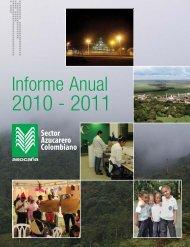 Informe anual de Asocaña 2010 - 2011