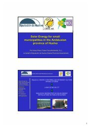 Solar Energy for small municipalities in the Andalusian ... - Raee.org
