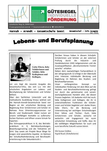 Gesa Info 4 Endversion 3 - Hannah-Arendt-Gesamtschule Soest