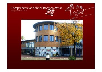 Comprehensive School Bremen-West - Gesamtschule Bremen-West