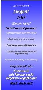 Sänger gesucht: Werbeflyer (hier klicken) - Gesangverein 1862 ... - Seite 2