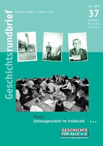 Geschichts rundbrief - Geschichte Für Alle e.V.