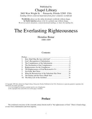 Everlasting Righteousness - Bonar.pdf