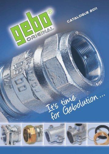 Catalogue - Gebo Armaturen GmbH