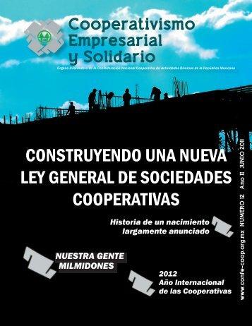 revista nueva.indd - confederacion nacional cooperativa