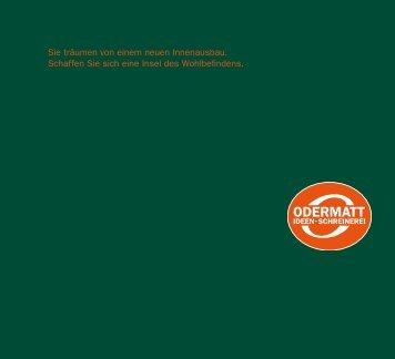 """Winter 2009"" Download PDF - Odermatt AG"