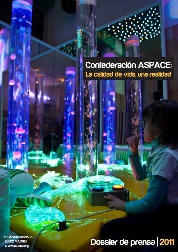 Dossier de prensa | 2011 Confederación ASPACE: