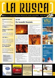 Rusca número 16. Juliol de 2009