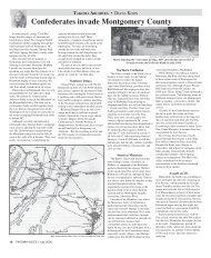 Confederates invade Montgomery County - Historic Takoma Inc.