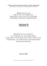 Document D Modèle de loi relatif à la - United Nations Office on ...