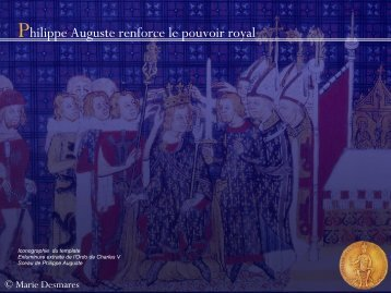 Philippe Auguste renforce le pouvoir royal