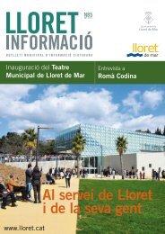 Núm. 85 - Ajuntament de Lloret de Mar